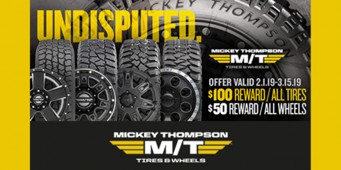 Mickey Thompson - 2019 Spring Rewards, Kannapolis, North Carolina