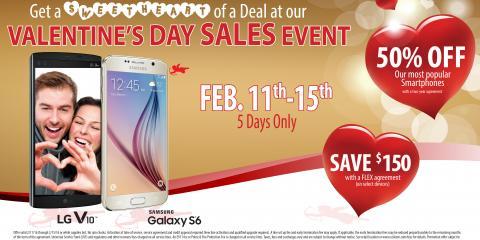 Valentine's Day Sales Event, Waupaca, Wisconsin