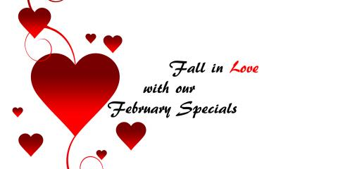 February Specials, Topsail, North Carolina
