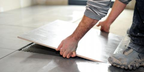 Flooring Installation Experts Compare Ceramic & Porcelain Tiles, Federal Way, Washington
