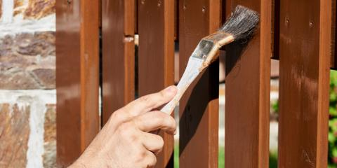 Top 3 Benefits of Fence Staining, Shepherdsville, Kentucky