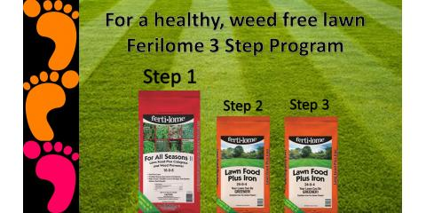 March is Here! Time for Fertilome Step 1!, Delhi, Ohio