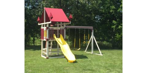 The Best Swing Sets in Rochester from Cricket on the Hearth and Swing Kingdom, Penfield, New York
