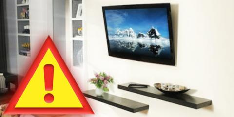 Follow These Safety Tips For Your TV Installation From Bruno's Audio & Video, New Orleans, Louisiana