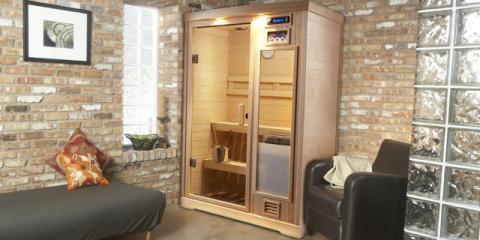"Finnleo's ""Cool"" Electric Sauna Heater Design: The Vena, Greece, New York"