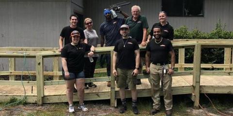 The SERVPRO Ramp Volunteer Project, St. Augustine, Florida