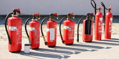 How to Choose the Right Size Fire Extinguisher, Olive Branch, Mississippi
