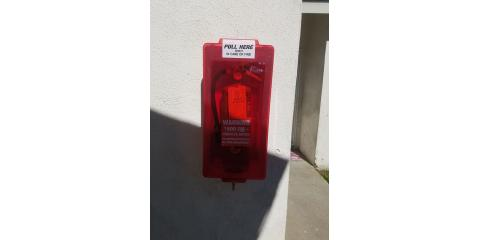 Fire extinguisher and cabinet combo deal., Long Beach-Lakewood, California