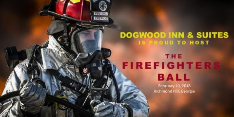 Dogwood Inn & Suites Hosts The Firefighters Ball, Richmond Hill, Georgia