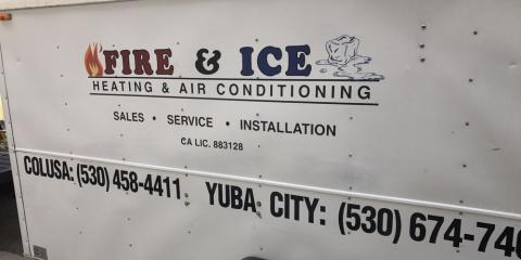 Fire & Ice Heating & Air Conditioning, HVAC Services, Services, Colusa, California