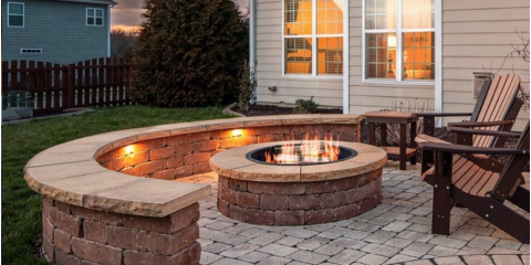 How to Choose Between a Wood-Burning & Gas-Burning Fire Pit, Greensboro, North Carolina