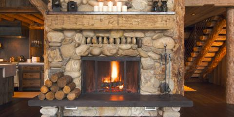 How to Properly Stack Logs in Your Fireplace, Garfield, Michigan