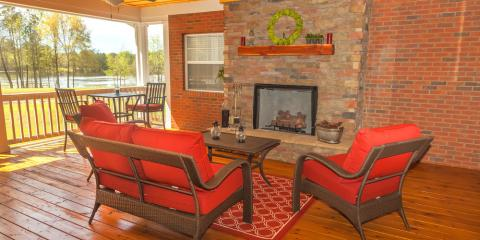 Become the Favorite Hangout Spot With a Backyard Gas Log Fireplace, High Point, North Carolina