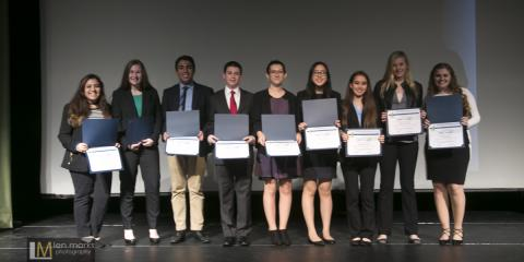 Award Winners Celebrate: Emerging Leaders Business Competition, Huntington, New York