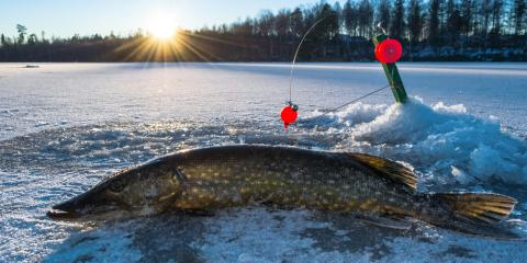 3 Leading Winter Fishing Tips & Tactics, Nekoosa, Wisconsin