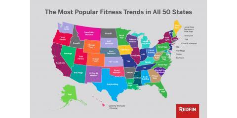 The Most Popular Fitness Trends in All 50 States , North Bethesda, Maryland