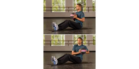 NYC Rehab & Fitness Center FitWAR Shares 4 Easy At-Home Exercises Using Only a Medicine Ball, Manhattan, New York
