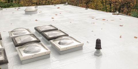 Roofer Reveals 3 Benefits of Flat Roof Coating, New Canaan, Connecticut