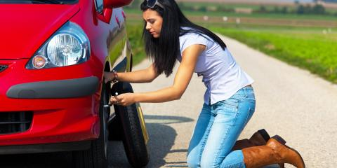 How to Change a Flat Tire, Burney, California