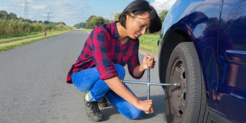 How to Change a Flat Tire, Islip, New York