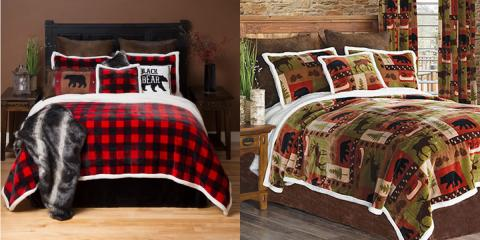 Just in: NEW Fleece Bedding & Blanket!, Minocqua, Wisconsin
