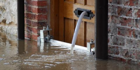 5 Steps to Take After Water Damage From Flooding, Plover, Wisconsin