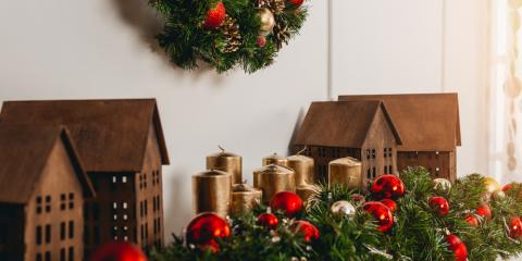 Decorating for the Holidays Using Floral Arrangements, Lakeville, Connecticut