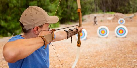 5 Steps for Shooting a Bow & Arrow, Independence, Kentucky