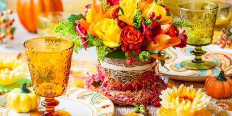 How to Decorate Your Thanksgiving Table With Flower Arrangements, West Chester, Ohio