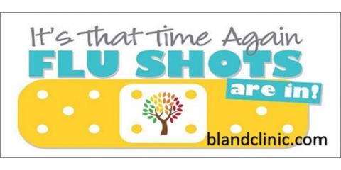 Flu Shots Available., 1, Virginia