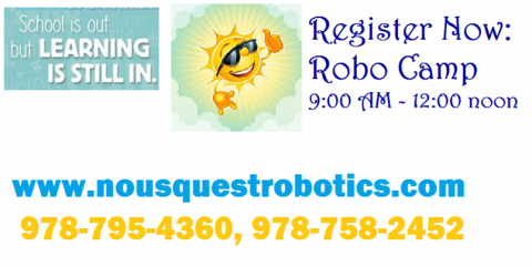 Lego/Robotics Summer Camp, Acton, Massachusetts