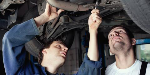How Does Your Car's Suspension System Work?, Foley, Alabama