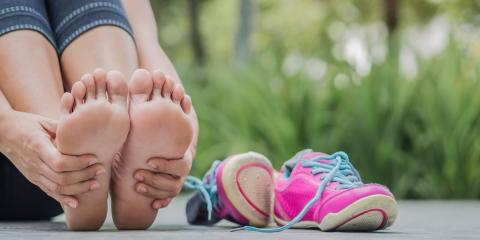 4 Common Causes of Foot Swelling, Franklin, Ohio