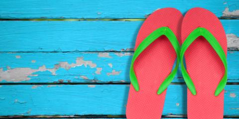 3 Safety Tips When Wearing Flip-Flops This Summer, Wolcott, Connecticut