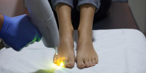 Innovations in Foot Care: What Does MLS Laser Therapy Treat? , Fairfield, Connecticut