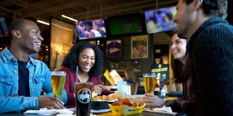 Not Into Sports? Here's Why You'll Still Love Buffalo Wild Wings®, New Haven, Connecticut