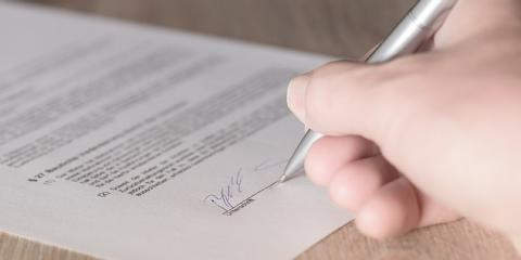 What Effects Does Forgery Have on a Contract?, Fairfield, Ohio