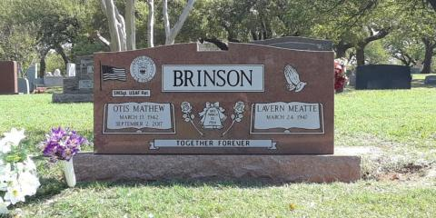A Guide to Picking the Right Headstone for Your Climate, Fort Worth, Texas