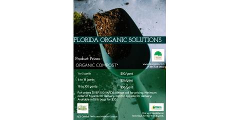 Updated Compost Prices, Brandon, Florida