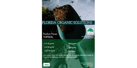 Updated Topsoil Prices, Brandon, Florida