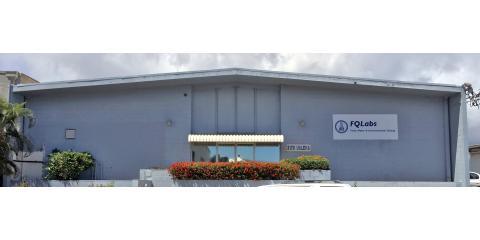 New Facility, Same Stellar Laboratory Services at FQ Labs, Honolulu, Hawaii
