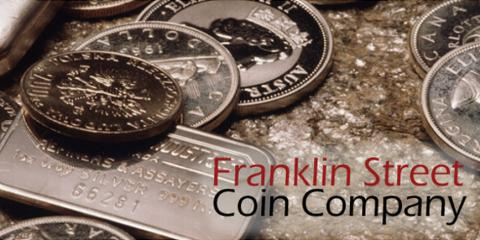 Franklin Street Coin Company Offering Free Coin Appraisals, Sharonville, Ohio