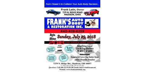 2018 Frank's Auto Body Benefit Event, Madison, Ohio