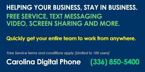 Get You Business Working Remotely - FREE, Greensboro, North Carolina