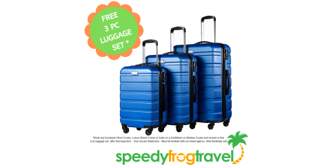 FREE 3 PC LUGGAGE SET WITH CRUISE PURCHASE*, Houston, Texas