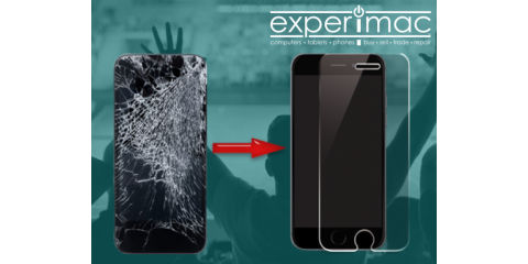 Free Tempered Glass with iPhone® and iPad® Screen Repair, Greenville, North Carolina