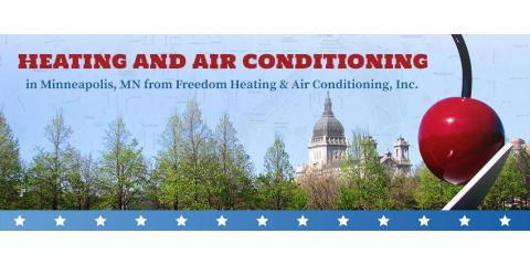 Freedom Heating & Air Conditioning, Inc., HVAC Services, Services, Minneapolis, Minnesota