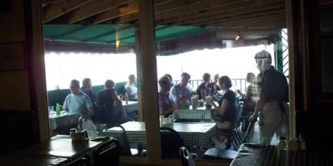 Enjoy A Delicious Pasta and Glass of Red Wine on our Patio!, Groton, Connecticut