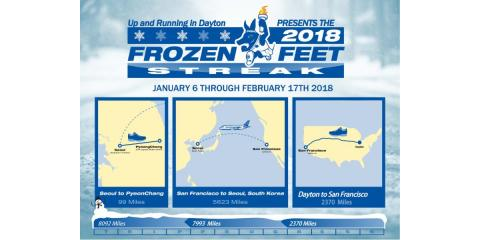 UAR Presents the 2018 Frozen Feet Streak, Washington, Ohio