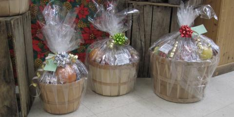 Pre order Fruit Baskets - Hand crafted at Cranberry Country Market, Byron, Wisconsin